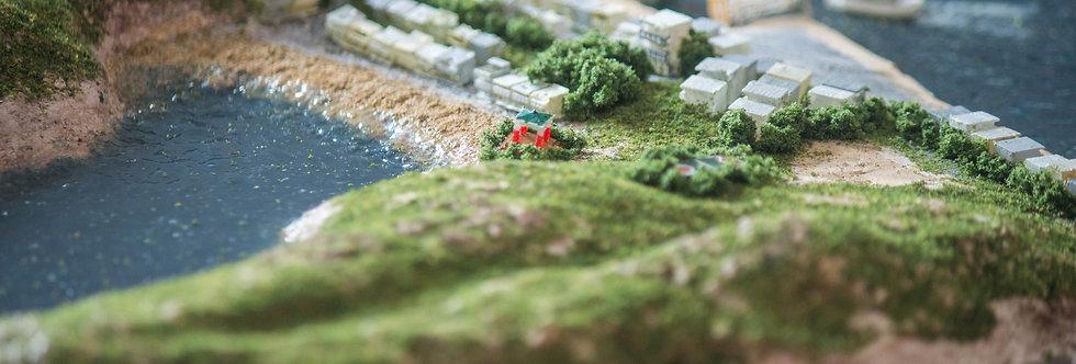 Peng Chau Island, Hong Kong  - Miniature Model Diorama