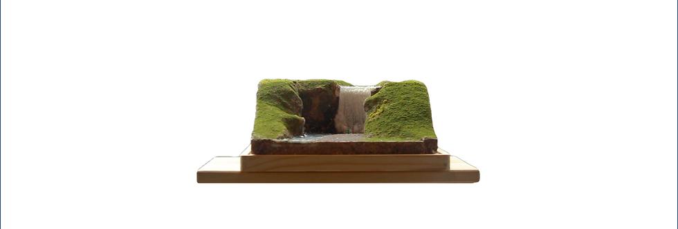 Skogafoss, Iceland  - Miniature Model Diorama