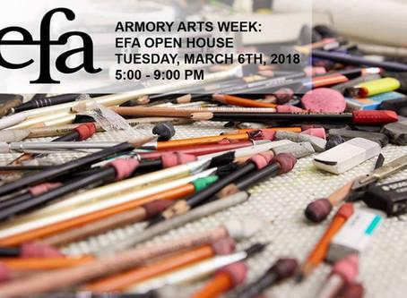 Open Studios Armory Arts Week @ EFA
