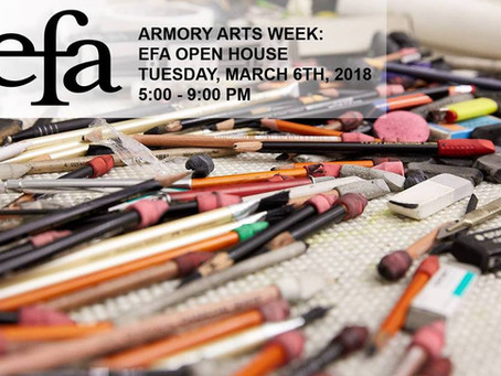 Open Studios Armory Arts Week @ EFA