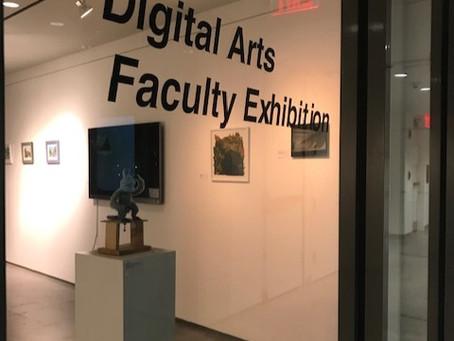Pratt Digital Arts Faculty Exhibition