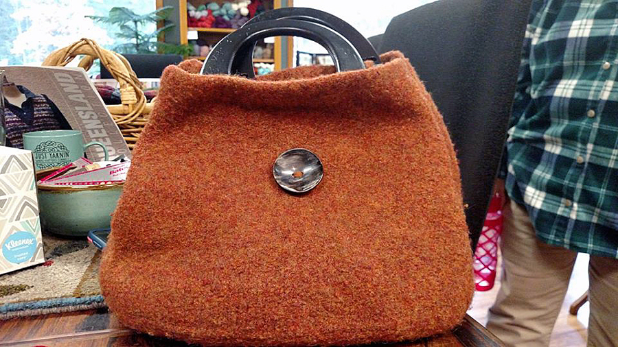 Mrs. Knitsalldays Felted Bag