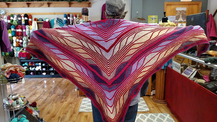 Butterfly / Papillon Shawl