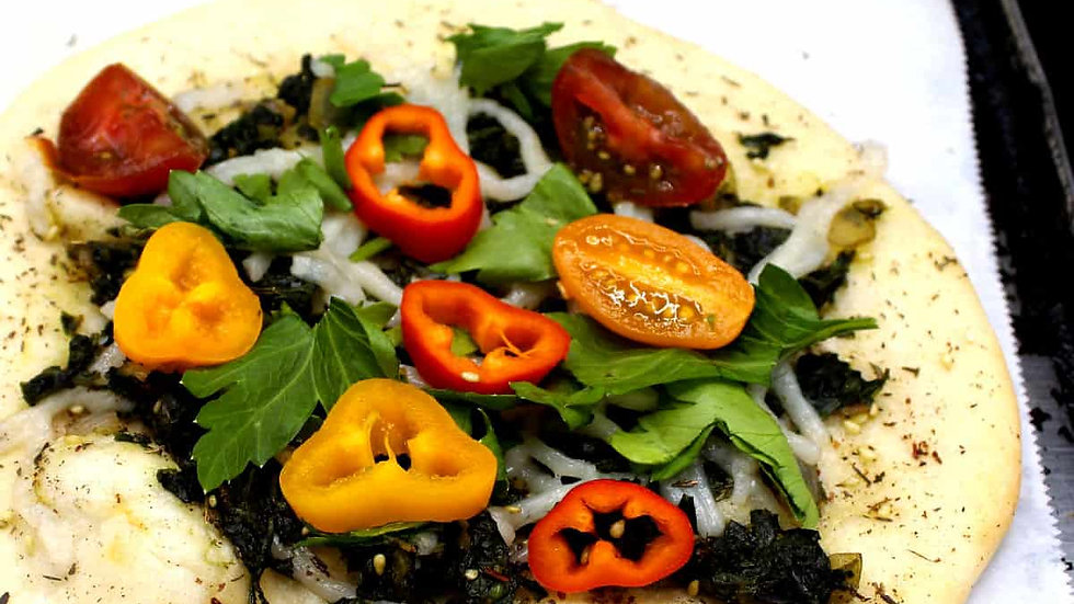 Lebanese Vegetable Flatbread