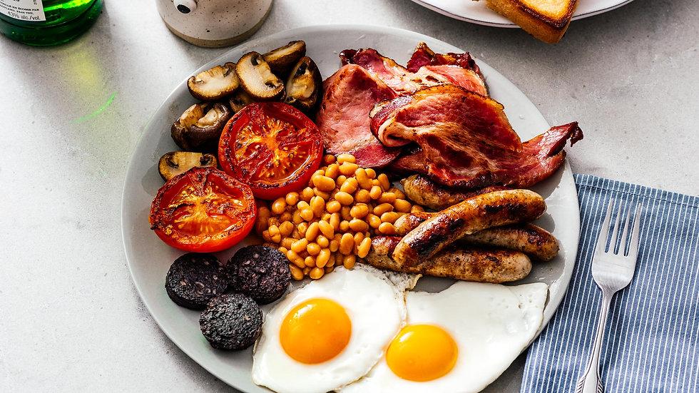 Breakfast at Hornington Manor - Full English Breakfast