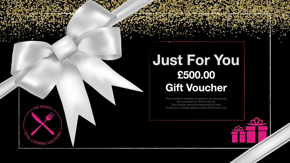 £500.00 Gift Voucher