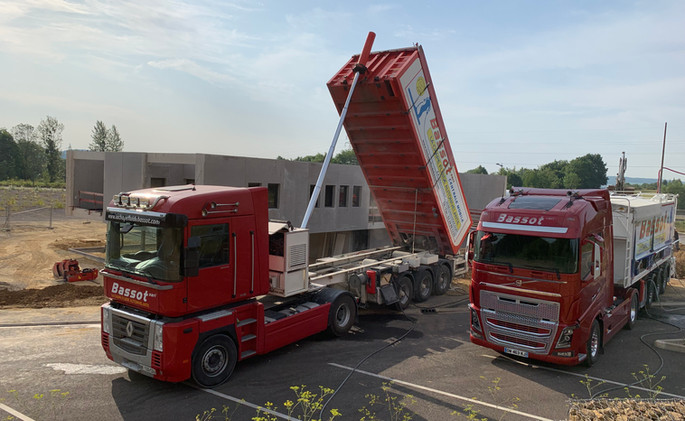 Chantier 2 camions