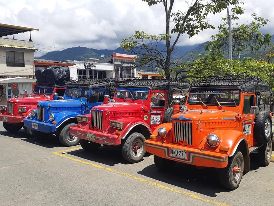 Sistema de Transporte Rural en Colombia
