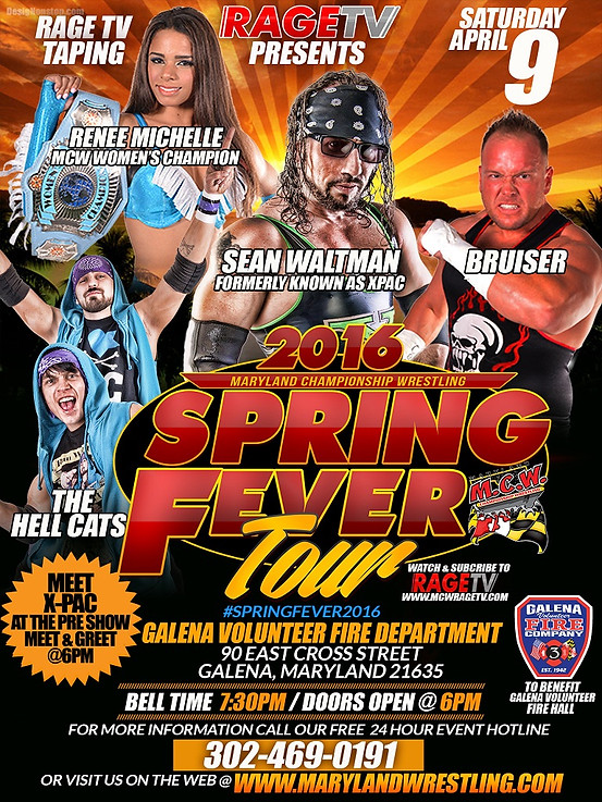 Pwinsiderxtra shawn michaels sean waltman billy gunn more heading to maryland championship wrestling m4hsunfo Image collections