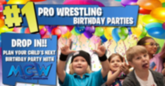 Birthday Parties ad