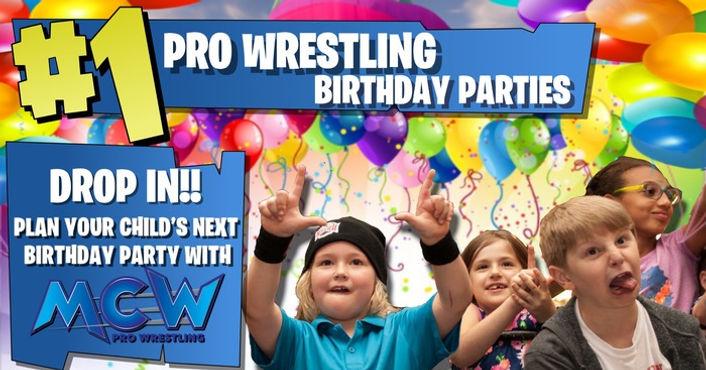 Birthday Parties ad