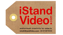 iStandVideo, etiqueta kraft,  para WEB l