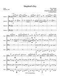 Percy Grainger Shepherd's Hey bassoon quartet 4 bassoons bassoon music