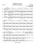 Chopin Prelude in e minor bassoon quartet 4 bassoons bassoon music