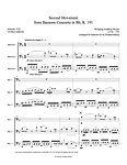 Mozart Bassoon Concerto bassoon trio bassoon music