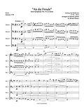 Beethoven Ode to Joy Symphony No. 9 4th movement bassoon quartet 4 bassoons bassoon music