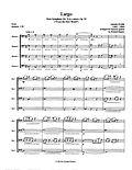 Dvorak Largo Symphony No. 9 4th movement bassoon quartet 4 bassoons bassoon music