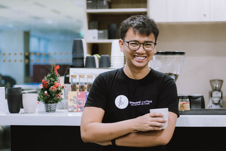 This café does more than just serve good coffee