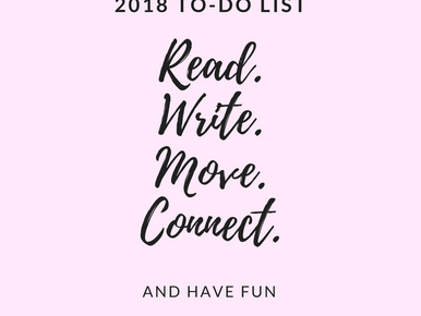 What's on your 2018 to-do list?