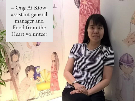A volunteer who makes sure no food goes to waste