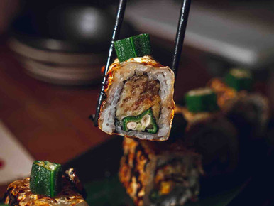 A menu that will have you craving for Japanese and vegetarian tonight