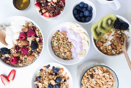 Granola, and other tweaks to your breakfast and snacks