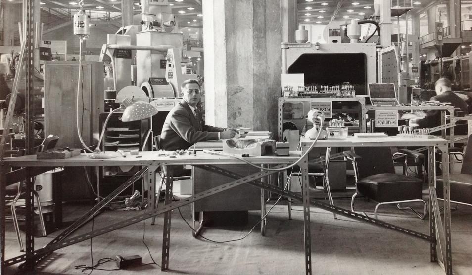 Salon Mécanelem 1958