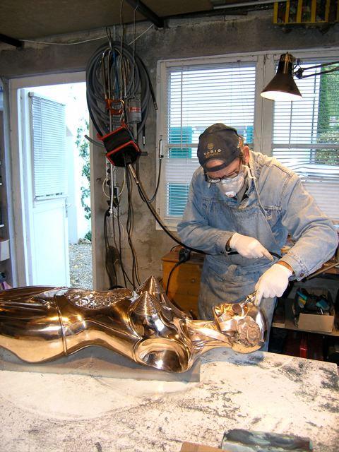 Jean Marc Laroche, sculpture sur bronze
