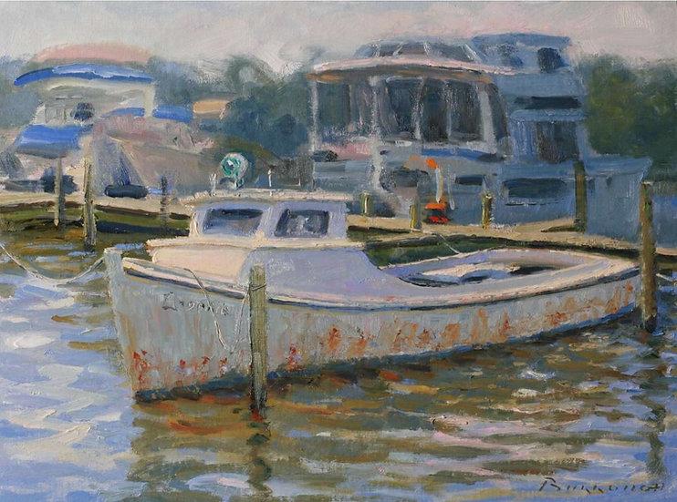 Rusty Deadrise by Joseph Burrough