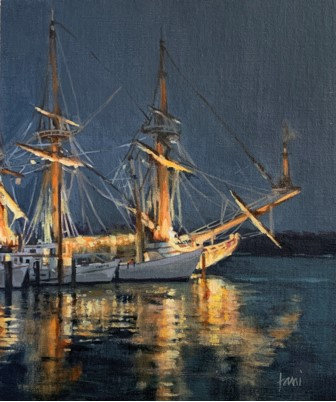 Downrigging Nocturne by Lani Browning