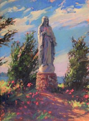 Madonna of the Garden by John Eiseman