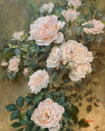 Tea Roses by Lani Browning