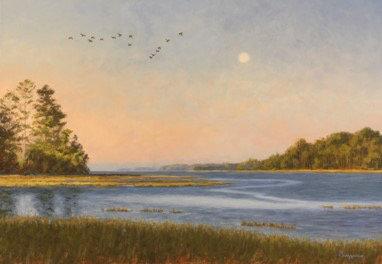 Eastern Shore Estuary by Joseph Burrough
