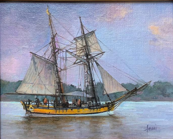 Sultana Sail by Lani Browning