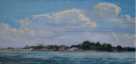 Assateague Sky by Jim Rehak