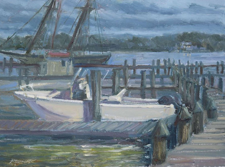 Chester River Nocturne by Jim Rehak