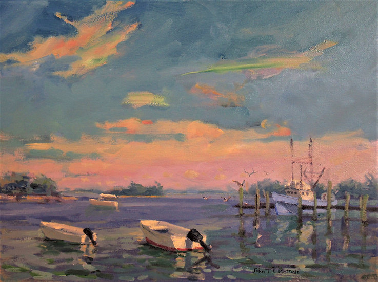 Inlet Blues by John Eiseman