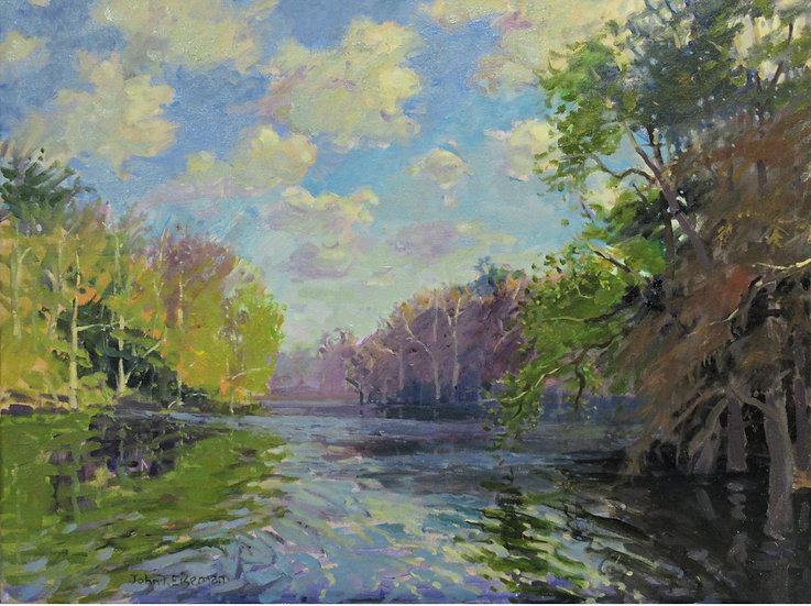 Across Golden Pond by John Eiseman