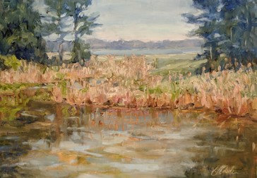 Chesapeake Marsh by Ann Crostic