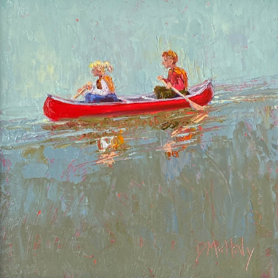 The Red Canoe by Diane DuBois Mullaly