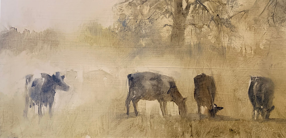 Misty Morning Ladies by Beth Bathe