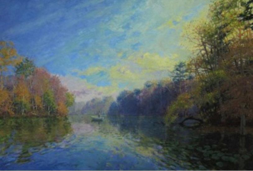 Autumn Angler by John Eiseman