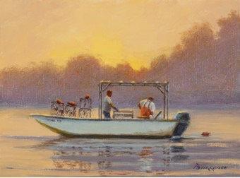 Harvesting Crab Pots by Joseph Burrough