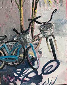 Bicycle Beach by Maggii Sarfaty