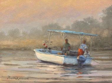 Hauling in a Crab Pot by Joseph Burrough