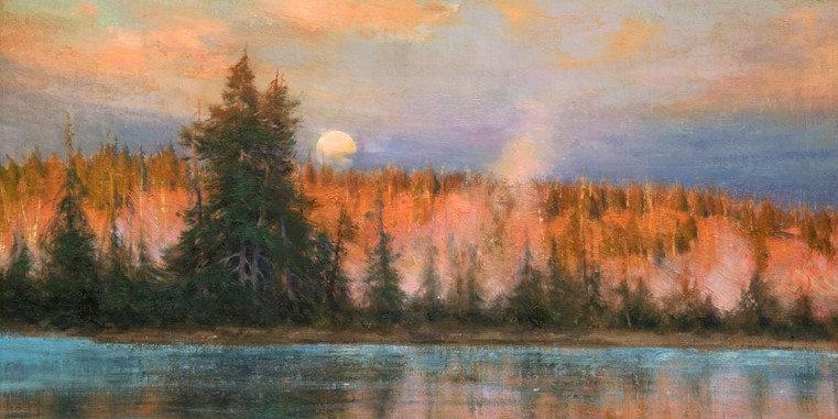 Last Light on Yellowstone by Eleinne Basa