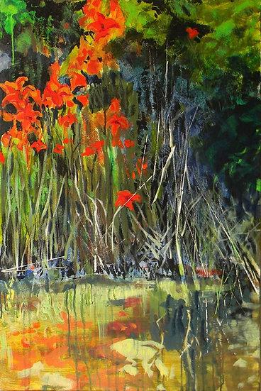 Tiger Lilies by Carol Wade