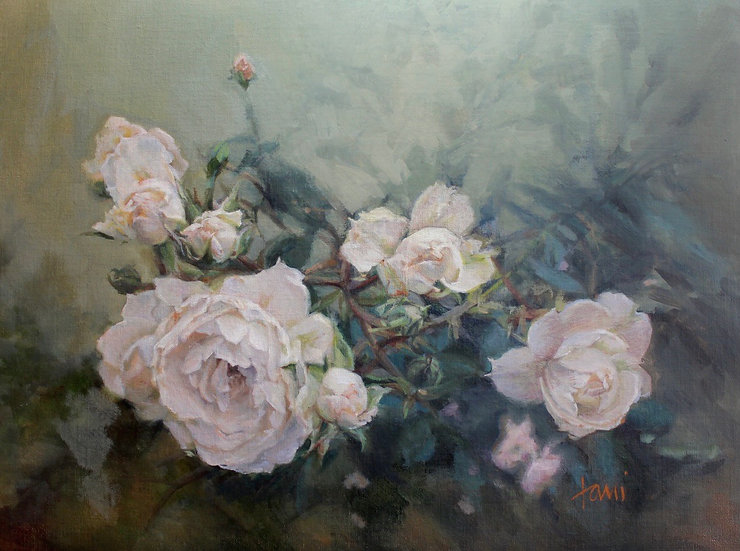 Summer Roses by Lani Browning