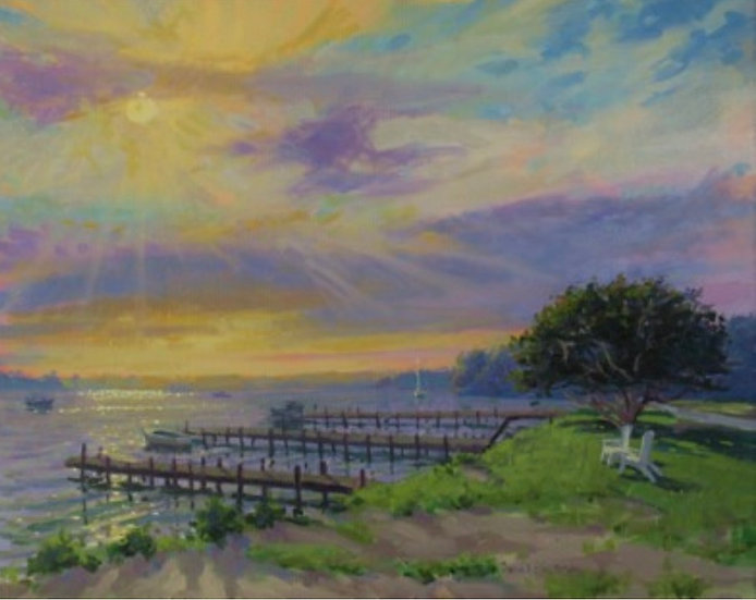 Sunrise Sparkle by John Eiseman