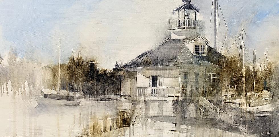 Hooper Straight Lighthouse by Beth Bathe